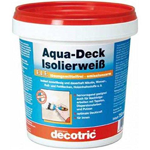 Aqua-Deck Isolierweiß ELF750 ml Dose decotric (Aqua Deck)