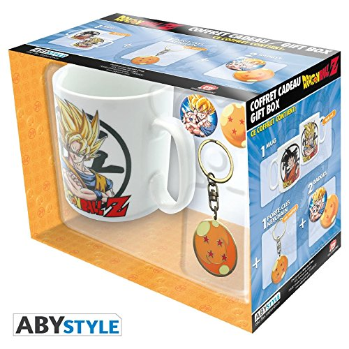 PACK TAZA + LLAVERO DRAGON BALL