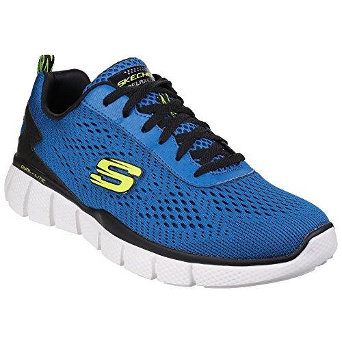 Skechers - Settle The Score - Scarpe sportive flessibili - Uomo Grigio Nero