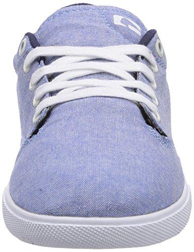 Globe Lighthouse Slim, Chaussures de skateboard homme Gris (13200 Blue Chambray/White)