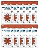 everActive 312, 60 Stück, Hörgerätebatterien,...