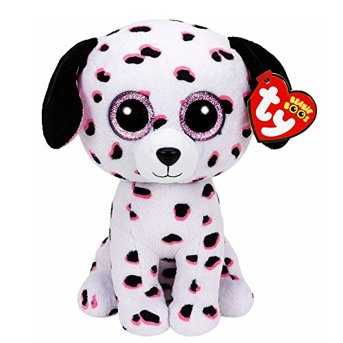 Beanie Boo Dog - Georgia - Dalmation - 24cm 9""