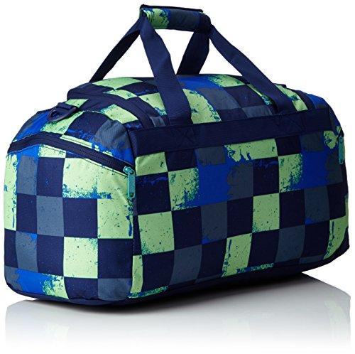 Chiemsee Reisetasche Sporttasche Matchbag Medium, schöne leichte trendige Reisetasche/Freizeittasche mit Schuhfach Grün (Swirl Checks)