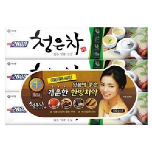 aekyung-2080-cheong-en-tea-toothpaste-130g-3pcs-korean-original