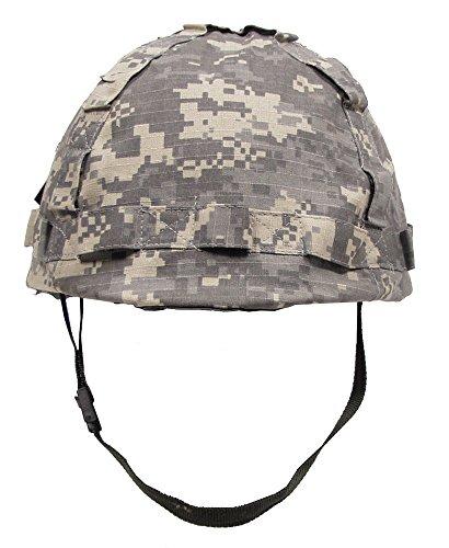 US Helm Kunststoff, mit Stoffbezug, AT-digital (Digital Camo-hut)