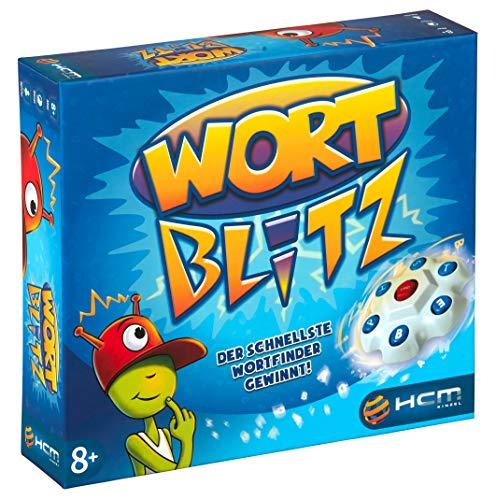 HCM Kinzel Wortblitz - Wissensspiel Wortratespiel Denkspiel mit Buchstabentornado 55117