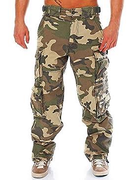 JET LAG Cargohose 007 camouflage