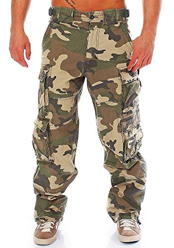 JET LAG Cargohose 007 camouflage XL/34