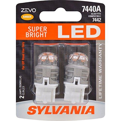Preisvergleich Produktbild SYLVANIA ZEVO 7440 T20 Amber LED Bulb,  (Contains 2 Bulbs)