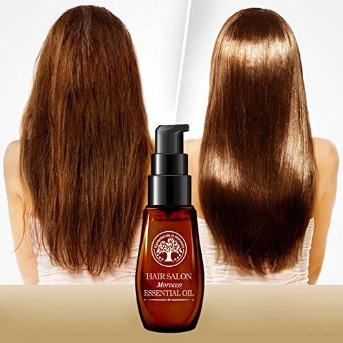 Ardorlove Morocco Oil Repair Perm Dyed Hair Aceite esencial Hidratante Dañado y dañado Cabello seco Mejore el cabello muy rizado