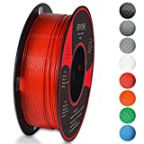 Filament PLA 1.75mm, Eryone PLA Filament 1.75mm, Imprimante 3D Filament PLA Pour Imprimante 3D, 1kg 1 Spool,Rouge
