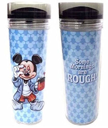 Disney Parks Mickey Mouse Mornings Travel Mug/Tumbler by Disney -