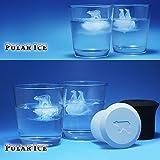 Luxugen Silikon Eiswürfelform Mit Deckel Pinguin Eisbär Eiswürfel Behälter Eiswürfelformen