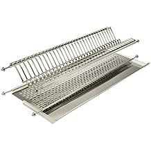 Escurreplatos acero inoxidable armario - Escurreplatos para muebles de cocina ...