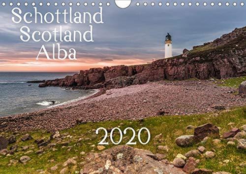 Schottland - Scotland - Alba (Wandkalender 2020 DIN A4 quer): 13 brillante Bilder zeigen Schottlands faszinierende Landschaft auf beeindruckende Weise. (Monatskalender, 14 Seiten ) (CALVENDO Orte) -
