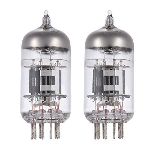 ammoon 2pcs Preamp Röhren 6N4 12AX7 (9pin Dual Triode für ECC83 7025 5751 Ersatz