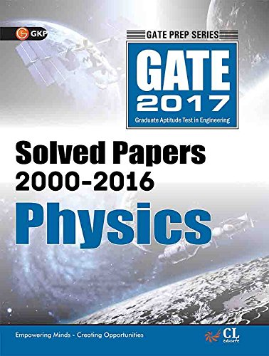 GATE Paper Physics 2017 (Solved Papers 2000-2016)