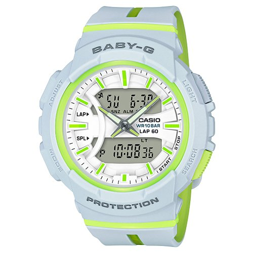 Casio Women's Baby G BGA240L-7A Grey Resin Japanese Quartz Diving Watch