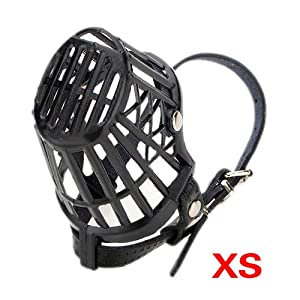 TOOGOO(R) Chien Pet Museau panier Cage 7 TAILLE XS