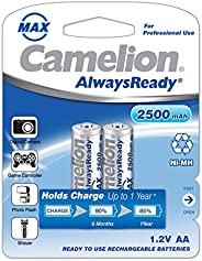 Camelion Rechargeable AA battery 2500mAh 2 Pc