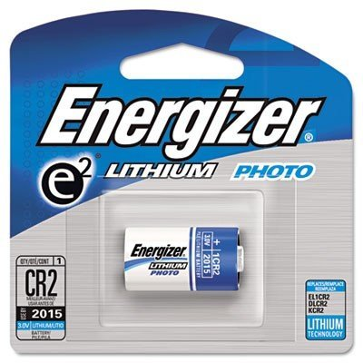 e2 Lithium Photo Battery, CR2, 3Volt, 1 Battery/Pack - 3v Backup-batterie