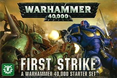 Games Workshop Jeux Atelier 60010199018Warhammer 40,000?: First Strike Ensemble de démarrage de jeu