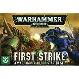 "Games Workshop 60010199018"" Warhammer 40,000: First Strike Starter Set Game"