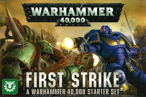 GAMES WORKSHOP 60010199018 Warhammer 40.000: First Strike Starter Set Game
