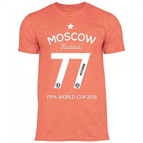 a8178467 Royal Shirt df7 Men's T-Shirt Russia Russia 2018 World Cup | Moscow  Football Jersey