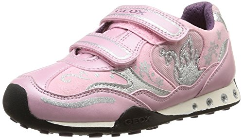 Geox Jr New Jocker Girl B, Sneaker, Ragazza, Rosa (Pink), 24