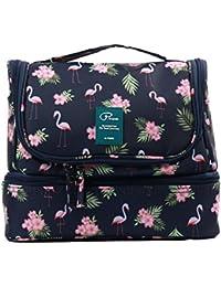 Beauty Case da Viaggio Borsa da Toilette Tuscall Borsa da Viaggio Impemeabile Ripiegabile Cosmetico Bag per Donna & Uomo e bambino, Adatto Per Cosmetici, Rasatura, Accesori da viaggio