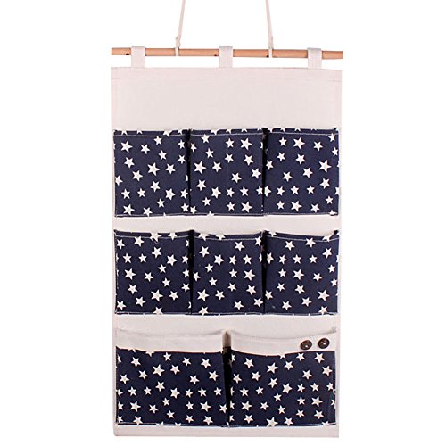 gudehome-gadgets-titulaire-wall-hanging-sac-draps-coton-fabric-8-poches-porte-compartiment-wall-hang