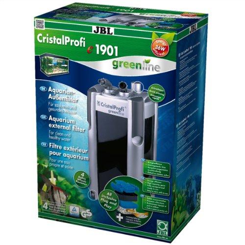 JBL CristalProfi e 1901 greenline 60222 Außenfilter für Aquarien von 200 - 800 Litern