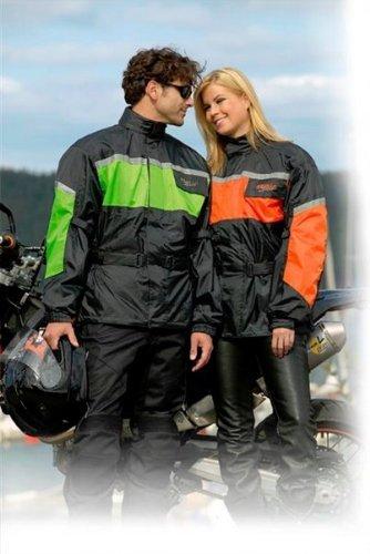 GERMAS Leeds 952.08-10XL - Chubasquero para moto, scooter y quad