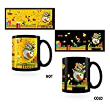 Super Mario SCMG24854 Gold Coin Rush Heat Changing Mug, Céramique, Multicolore, 11oz/315ml
