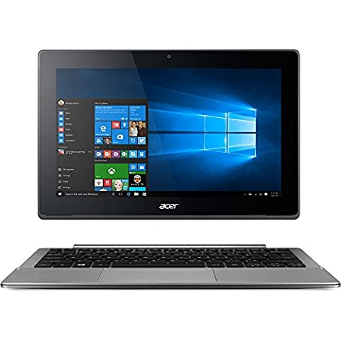 "Acer Aspire Switch 11 V 11.6"" SW5-173-648Z Intel M 5Y10c 4GB RAM 128GB SSD Windows 10 Home LED Backlit IPS HD (1366 x 768) Display(Versione USA, importato)"