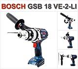 Bosch Akku-Schlagbohrschrauber GSB 18VE-2-LI Robustseries ohne Akkus, ohne Ladegerät ohne L-Boxx