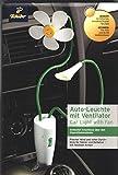 TCM Tchibo Auto LED Leuchte mit Ventilator Blumen Lüfter Klimagerät