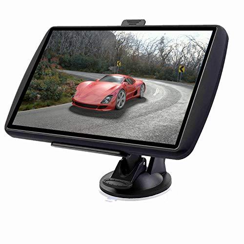 Aonerex Navigationsgerät Auto Navigation GPS 7 Zoll Touchscreen Navigationsystem mit Lebenslangen Kostenlosen Kartenupdates für 52 Ländern mit Sprachführung Mehrsprachig für Auto PKW LKW KFZ