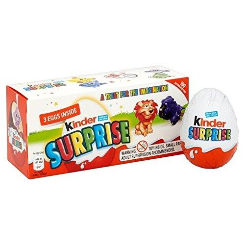 Uova Sorpresa Kinder 3 Per Confezione