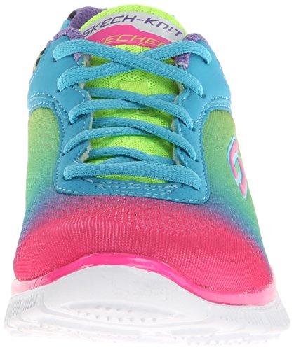 Skechers Appeal Serengeti, Chaussures de sports en salle fille Multicolore (Mlt)