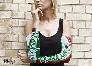 Italien 2 tlg. Frauen Armling Armstulpen Fan Ärmel Fanartikel Fussball