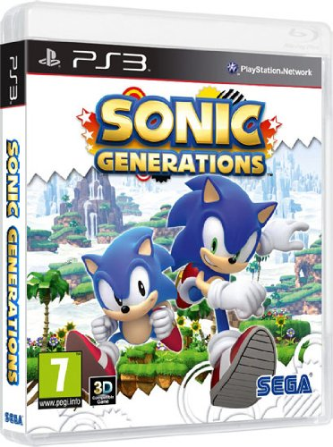 Juego Sonic Generations PS3