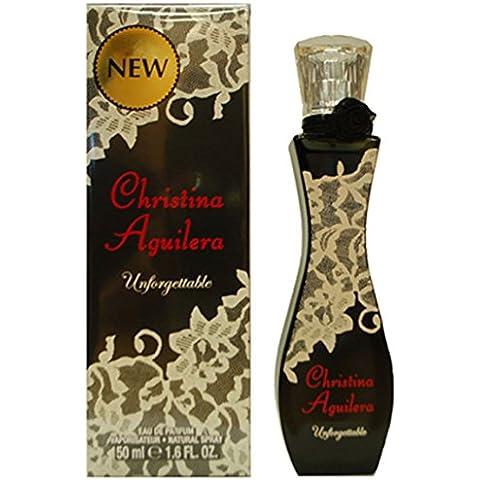 Christina Aguilera Unforgetable fragranza Eau De Parfum donna For Her 50 ml