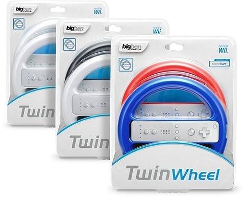 Wii - Lenkrad Mini Wheel: Twin Pack (farbig sortiert) (Wii Wheel)