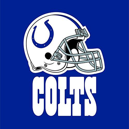 Creative Converting Indianapolis Colts Servietten, 16 Stück