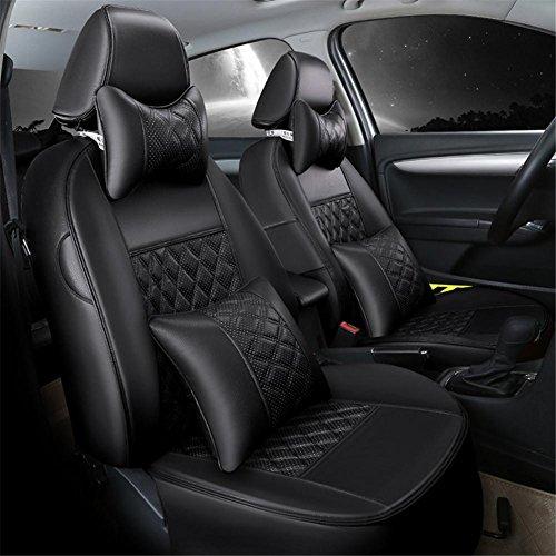 Ultra-Slim Leder Auto Kissen Luxus Sitzbezug fünf allgemeine 360 ° Full Surround Fit-Modell (3 Rui Tiger 5 Iris 3 Chery E3 Exclusive) , b (Iris Tiger)