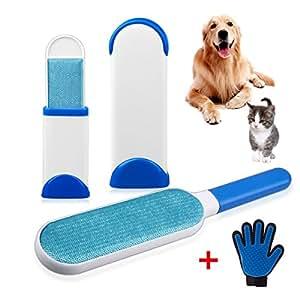 Brosse poil pour chat et chien brosse poil vetement brosse poils animaux bleu - Brosse vetements poils animaux ...