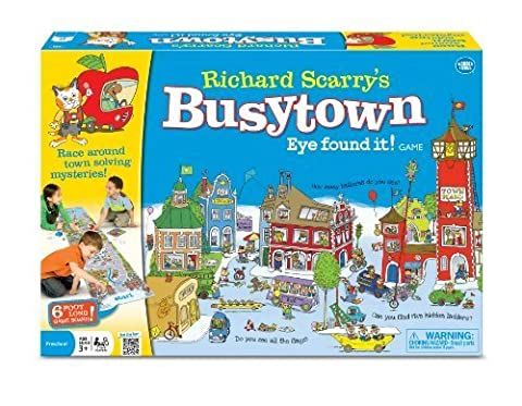 Richard Scarry Busy Town by The Wonder Forge TOY (English Manual)