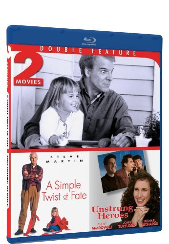 A Simple Twist of Fate & Unstrung Heroes - Blu-ray Double Feature by Steve Martin